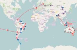 Notre itinéraire de Tour du Monde